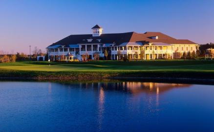 55+ Active Adult golf community hosting weddings, dining, and entertainment.